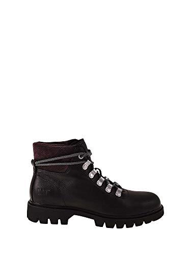 Caterpillar Handshake Ankle Boots/Boots Women Black/Purple - 7 - Ankle Boots Caterpillar Ankle Boot