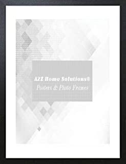 A2Z Home Solutions Desk Gallery Wall Mounting Poster 50x70cm Photo Frame Display Pictures Black