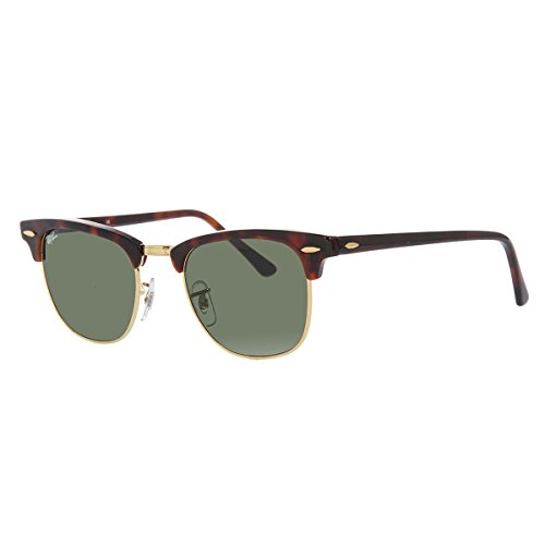 Ray-Ban RB3016-02, Occhiali da sole Unisex-Adulto, Brown (Braun RB 3016), 49 mm