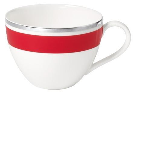 0,2L Kaffeeobertasse 'Anmut My Colour' aus Premium Bone Porzellan Farbe: Red Cherry