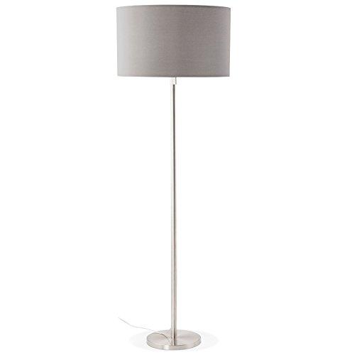 Alterego - Lampadaire design 'LIVING BIG' gris réglable en hauteur