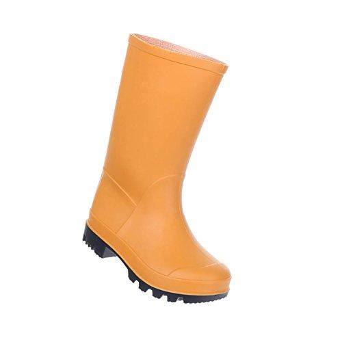 Mädchen Jungen Regenstiefel Gummi Orange 28 (Jungen Und Mädchen Passenden Kostüme)