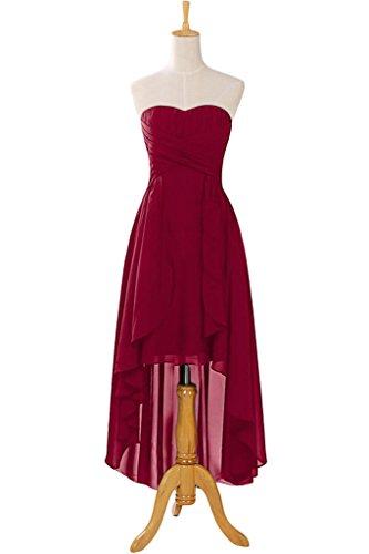 Missdressy -  Vestito  - plissettato - Donna rosso vivo