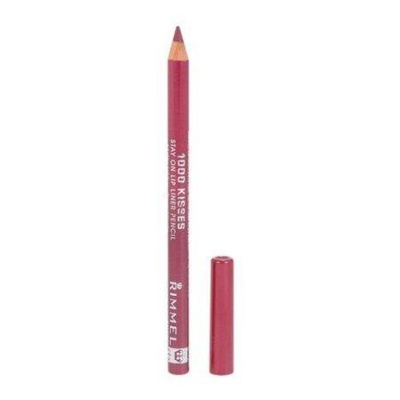 Rimmel Crayon contour des lèvres rétractable Exaggerate - Texture douce - Tracé précis - Couleurs intenses - Coloris Obsession (Ensemble de 3)