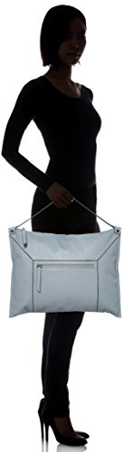 Ecco - Sculptured Shoulder Bag 2, Borse a spalla Donna Blu (Blue)