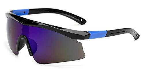 Adisaer Taktische Schutzbrille Mountainbike Brille Für Fahrradsport Sportfischerei Im Freien Fischen Lässt Black Blue Damen Herren