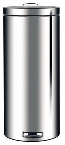 Brabantia Pedal Bin, 30 L - Brilliant Steel by Brabantia