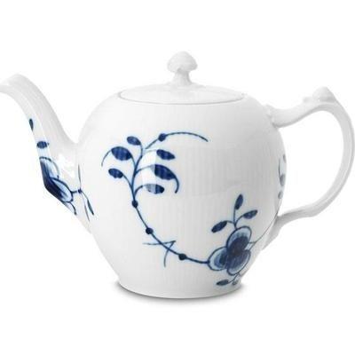 Royal Copenhagen Blue Fluted Mega Teapot by Royal Copenhagen
