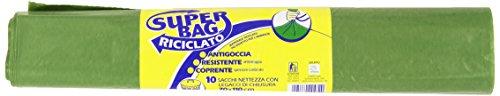 Frio Sacchi Nettezza con Legacci di Chiusura, 70 x 110 cm - 10 Pezzi