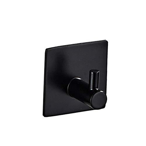 CTOBB Bad-Accessoires Wandhaken Edelstahl 3M Aufkleber Adhesive Kleidung Mantel Hut Hanger Badezimmer Nichtrostender Handtuchhaken, Modell 2