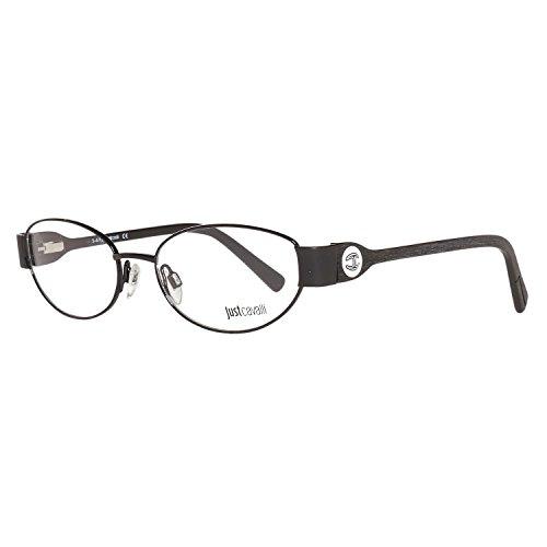 Just Cavalli Damen Brille JC0529 005 53 Brillengestelle, Schwarz,