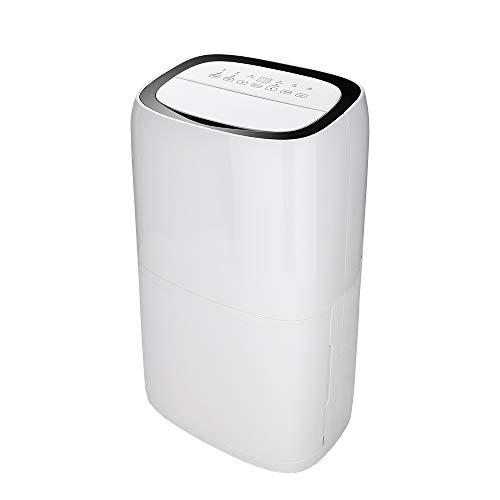 wolketon Luftentfeuchter bis zu 20L/Tag Raumentfeuchter Raumgröße bis zu 20~30 m² Timer Bautrockner Leiser Wäschetrocknung Entfeuchter Luftreiniger für Schlafzimmer