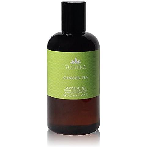 250ml Yuthika Té de jengibre Aceite de masaje