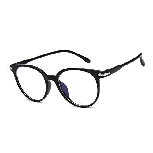 WZYMNTYJ Neue Transparente Mode Frauen Brillengestell Männer Brillen Rahmen Vintage Runde Brille Optische Brillengestell