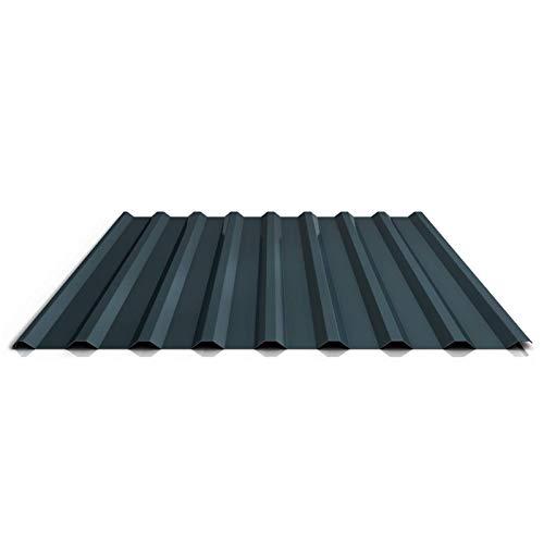 Trapezblech   Profilblech   Dachblech   Profil PA20/1100TRA   Material Aluminium   Stärke 0,70 mm   Beschichtung 25 µm   Farbe Anthrazitgrau