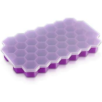bac gla on en silicone 2 pack moules glace en boule et en cube barquettes de gla on. Black Bedroom Furniture Sets. Home Design Ideas
