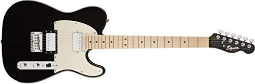Squier by Fender Contemporary Telecaster HH E-Gitarre, Ahorn-Griffbrett, Black Metallic
