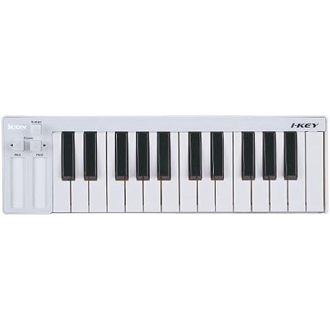 ICON I-KEY (white) keyboard 25 tasti controller midi