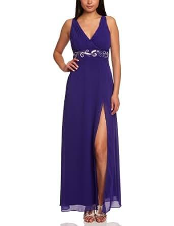 Lipsy DR06538 Maxi Women's Dress Ultra Marine Size 10