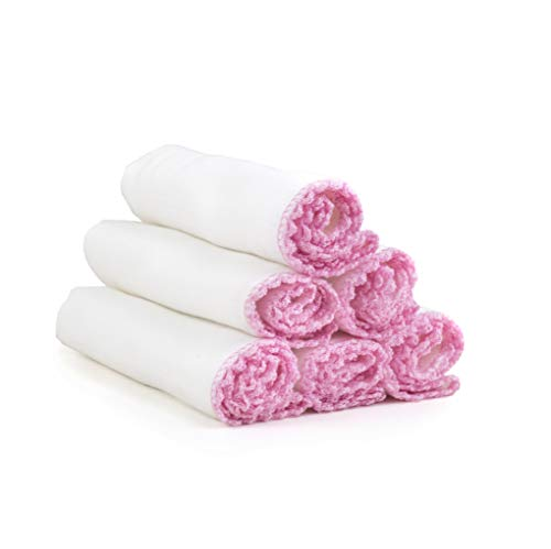 Paños muselina limpieza facial algodón suave exfoliación