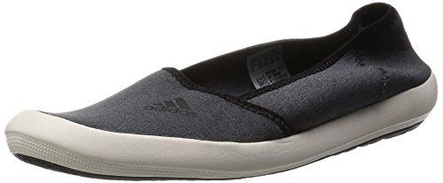 adidas Damen Boat Slip-On Sleek Turnschuhe, Blanco/Negro (Brgros/Blatiz/Negbas) 42 EU