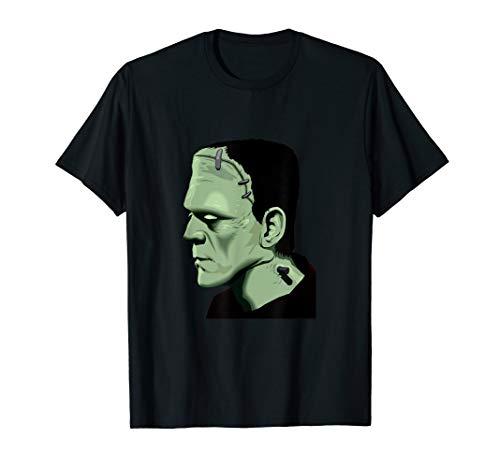 Scary Frankenstein Kostüm - Klassisches Monster Shirt Frankenstein Halloween Kostüm  T-Shirt