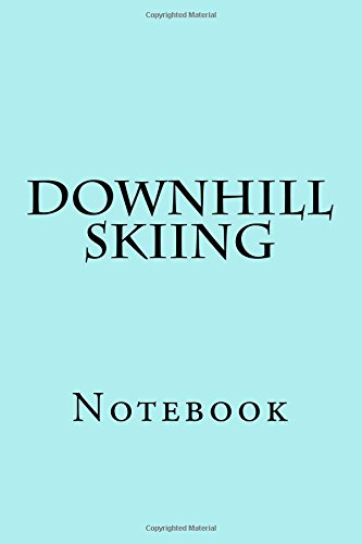 Downhill Skiing: Notebook por Wild Pages Press