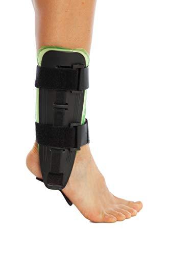 ArmoLine Air Pad Knöchel-bandage - Sprunggelenkorthese - Knöchelschiene - Steigbügel Knöchelorthese - Luft Gel - Aircast Sport-knöchel-steigbügel