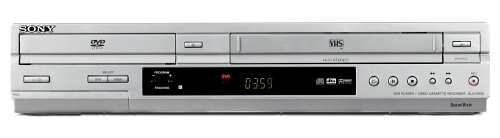 Sony SLV-D 930 S DVD-Player- / Videorekorder-Kombination Silber (Sony Vhs Dvd Recorder)