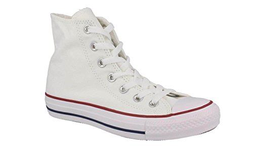 Converse Converse Sneakers Chuck Taylor All Star M7650C, Unisex-Erwachsene Hohe Sneakers, Weiß (Optical White), 44 EU (10 Erwachsene UK)