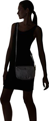 Le Temps des Cerises - Selena 8, borsa a tracolla Donna Nero (Noir Serpent)