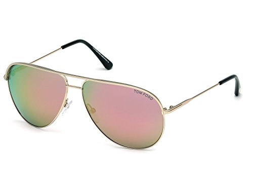 Tom Ford Erin FT0466 C61 29Z (matte rose gold / gradient) Sonnenbrillen