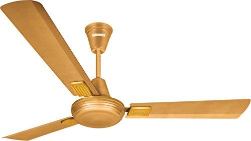 Luminous Amaze 1200mm 70-watt Ceiling Fan (metallic Gold)