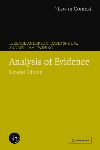 Analysis of Evidence (Law in Context) (English Edition) por Terence Anderson