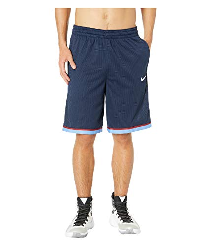 Dri-fit Basketball Short (Nike Herren M NK Dry Classic Shorts, College Navy/Whit, L)