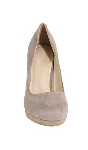 By Shoes - Scarpe con Tacco Donna Beige