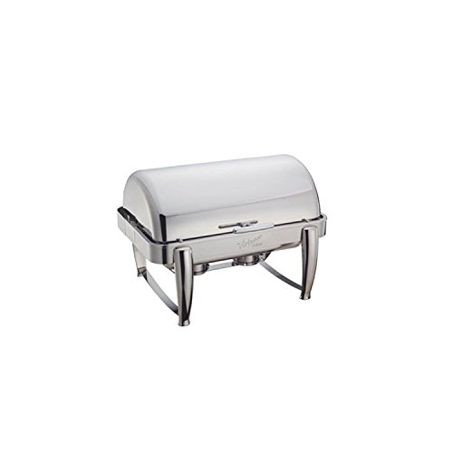 Winco Virtuoso 8-Quart Chafer, Full, 180 Roll-Top Roll Top Chafer