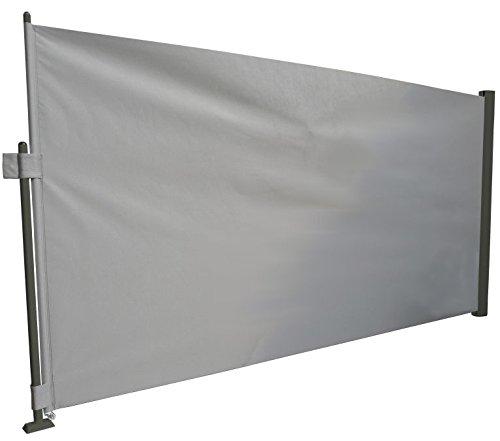 Prime Tech Sichtschutz / Seitenmarkise 1,6x3,0m / Kassette anthrazit/grau