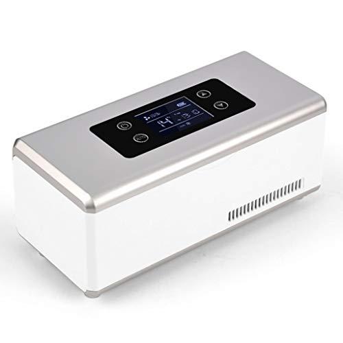 L@LILI Dispositivi Medici Portatile Mini insulina Coolbox Auto-Piccolo refrigeratore Domestico congelatore Nessuna Batteria, Basta collegare l'elettricità o collegare l'accendisigari