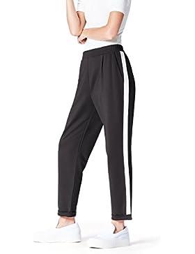 [Patrocinado]FIND Pantalón con Raya Lateral para Mujer
