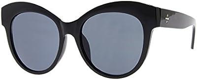 Cheapass Gafas de Sol Mujeres Ojos de Gato Extra Grandes Redondas de Diseñador Inspiradas