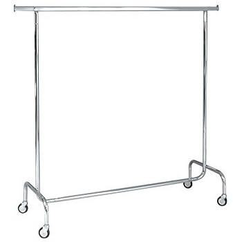 Ah stand stender appendiabiti di metallo con ruote e copertura protettiva altezza e larghezza - Porta abiti con ruote ...