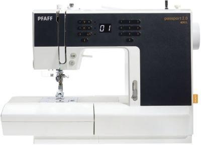 Pfaff passport 2.0 - macchina da cucire elettronica, professionale e portatile