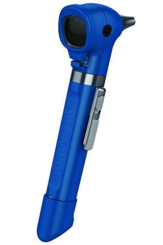 Welch Allyn 22880-blu Pocket Plus LED-Otoskop, blueberry mit Griff, Soft Case, Set von 4Wiederverwendbare Ohr Tipps, 2Fenster Stoßstangen