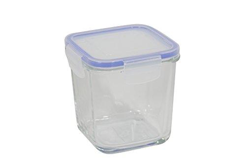 Unbranded 8012720Superblock caja transparente con tapa rectangular cristal 83,5cl 12,2x 12,2x 12cm