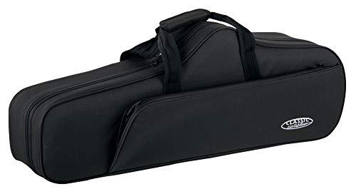 Classic Cantabile Leichtkoffer für Tenorsaxophon (Tenor Saxophon Koffer, Lightcase, Softcase, reiß- und wasserfestes Außengewebe, hochwertige Thermopolsterung, Außenmaße: 83 x 31 x 21 cm)
