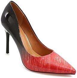 DALL Zapatos de tacón Ly-637 Gradiente De Color Primavera Y Verano Zapatos De Mujer Tacones Finos Tacones Sandalias...