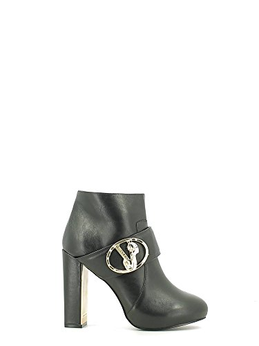 Versace jeans, Bottes pour Femme Noir