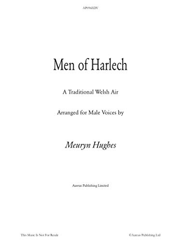 Men of Harlech: Men of Harlech in the hollow, Do ye hear like ...