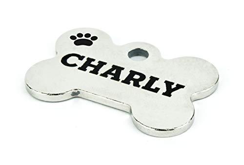 Haustierbedarf Groß Vertrieb Von QualitäTssicherung Hundemarke Aus Olivenholz Gravur Mit Name & Telefon